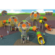 China for Outdoor Playground With Climbing Colorful Sphere & Combination Slides export to Benin Factory
